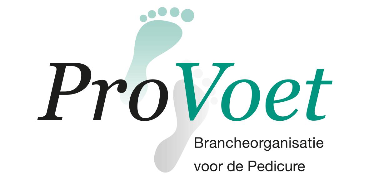 Logo-provoet, brancheorganisatie voor de pedicure