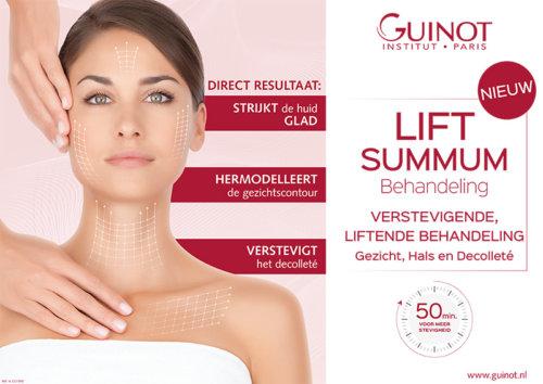 Lift-Summum-gezichtsbehandeling, Verstevig en lift de huid