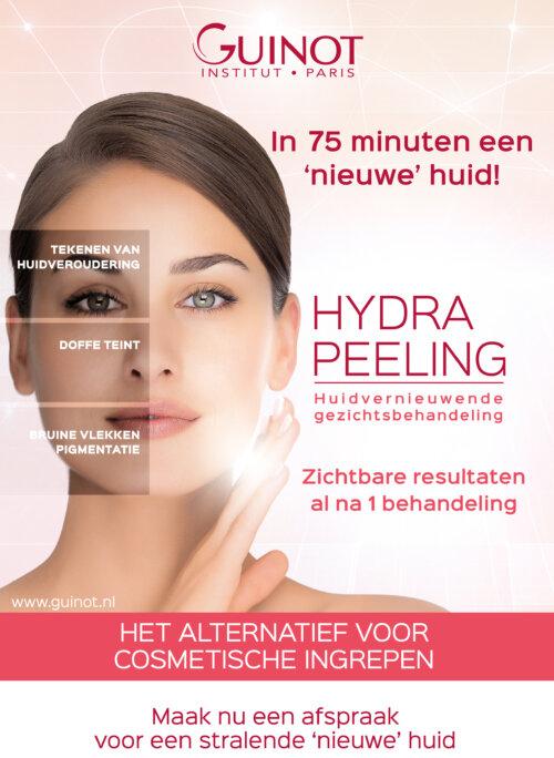 Guinot Hydra-Peeling een Huidvernieuwende gezichtsbehandeling